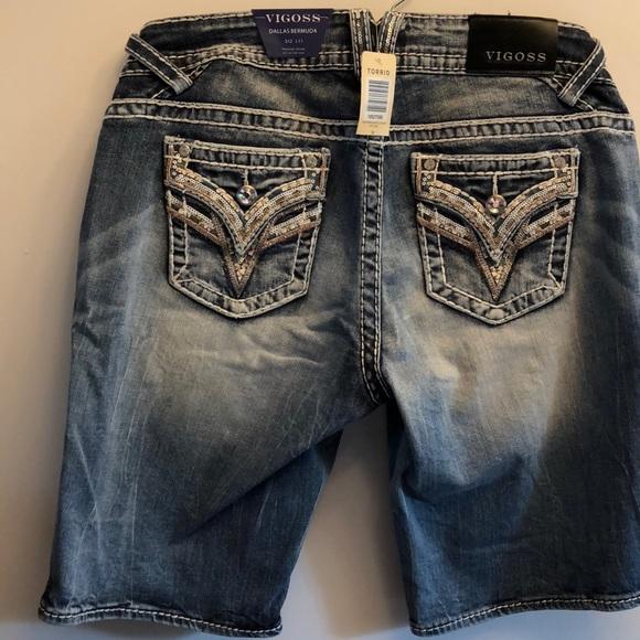 09d00deda9 Vigoss Shorts | Dallas Bermuda Nwt Light Wash | Poshmark